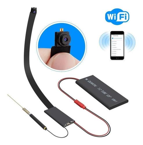 Imagen 1 de 4 de Mini Camara Espia Wifi Hd Microfono 1920x1080 4k App P2p