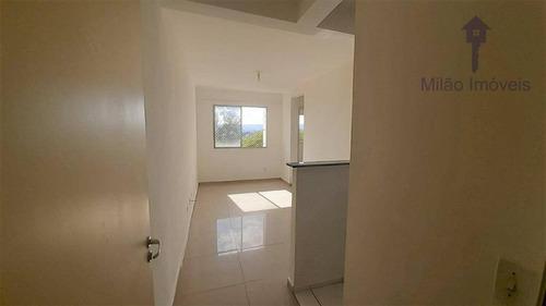Apartamento Com 2 Dormitórios À Venda, 47 M² Por R$ 160.000 - Campolim - Parque Sicília - Votorantim/sp - Ap1444