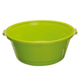 Bacia De Plástico Com Alças 25l Bac25 Astra Verde Dd