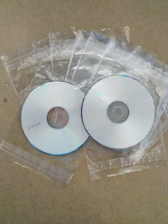 Bolsas Para Cd De 50 Micrones C/pegametno X 1000 Unidades ( Sobres Para Cd)