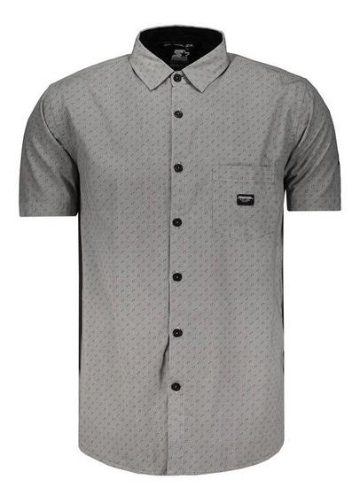 Camisa Starter Estampada Cinza