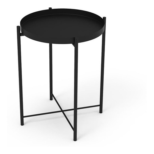 Mesa Arrime / Ratona Bandeja Multiuso Diseño Negro I Mite