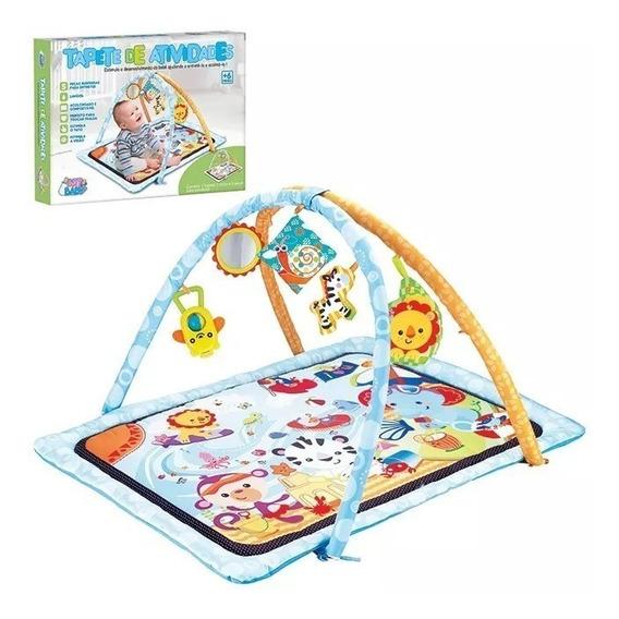 Brinquedo Tapete De Atividades Cm Móbile Infantil Meninos