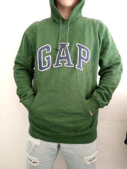 Buzo Gap Con Capucha Hombre Talle L 100% Original Usado