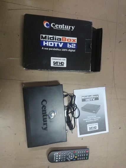 Receptor Digital Midia Box B2 Hdtv Com Conversor Digital