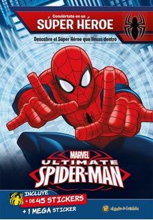 Spiderman Libro Con Stickers Libro Para Niños 1636