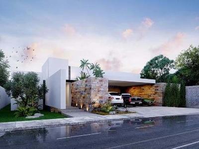 Increible Residencia De Una Planta En Privada Artisana. 4 Habitaciones