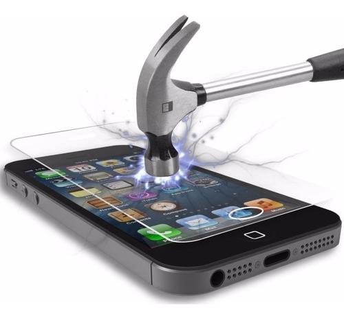 Vidrio Templado Mica iPhone 4s 5 5s 6 6s 7 8 Plus Instalado