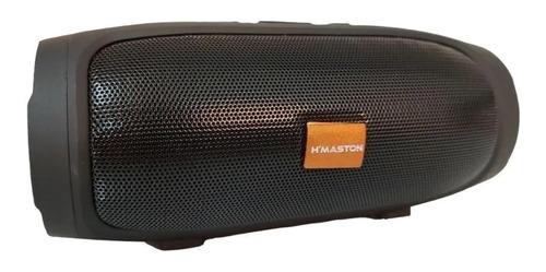 Alto-falante H'maston H007 portátil preto
