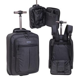 Mochila Maletin Porta Notebook Carro Viaje Valija Cabina Travel Ruedas 360 Ejecutivo Happy Buy