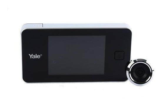Olho Mágico Digital Real View C/ Tela Lcd Yale