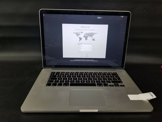 Macbook Pro Me293ll/a Core I7 2.3 15 8gb Retina 256gb Ssd 2