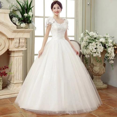 Vestido De Novia Princesa Plus Pre-venta  Entrega 45 Días