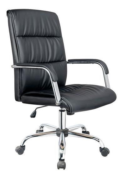 Cadeira Para Escritório Exeway Matelada, Preta