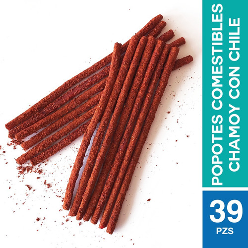 Yummy Straws 39 Popotes Comestibles .:chamoy Y Chile:.