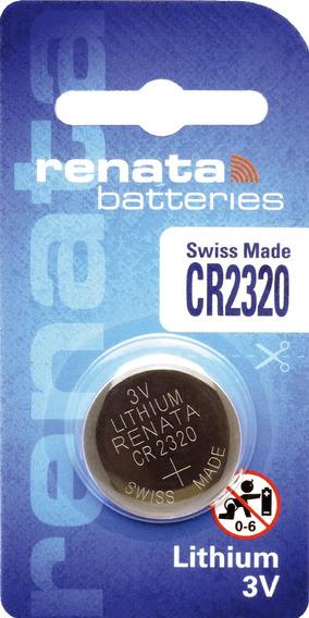10 Pilhas Baterias 2320, Relógios 3v Renata Cr2320 Original