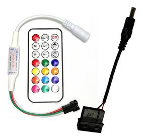 Controlador Rgb Digital Ws2811 Vdg Adaptador Rainbown Fonte