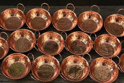 Tacho Pequeno De Cobre N°3 9 Cm (30 Uni)