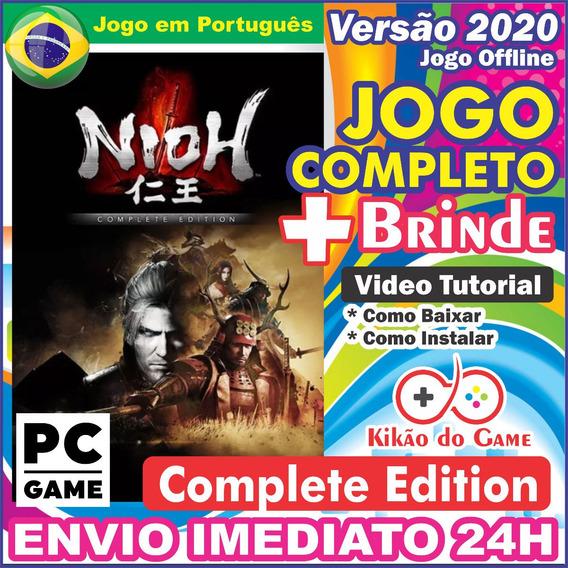 Nioh Complete Edition Pc Digital / Br + Brinde