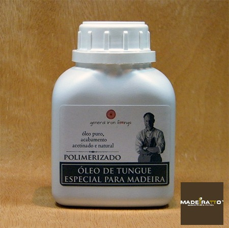 Óleo De Tungue Polimerizado - 5 L - General Iron Fittings