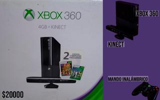 Xbox 360(lt 3.0)+kinect+mando Inalámbrico
