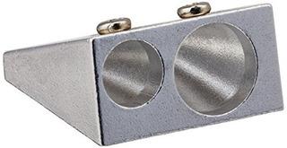 Escuela Smart Aluminio Doble Agujero Sacapuntas De Mano R Pa