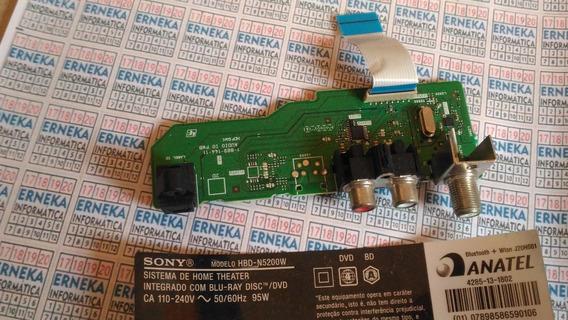 Placa Antena Áudio Sony Bdv-n5200w 1-889-144-11