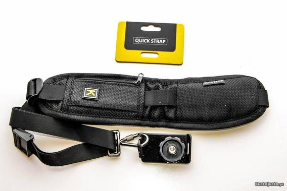 Alça De Ombro Camêra Quick Strap Dsrl Canon Nikon Sony