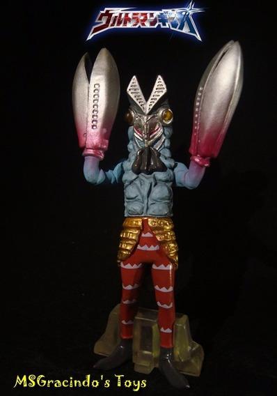 Boneco Bandai / Ultraman - Alien Baltan - Importado E Raro!