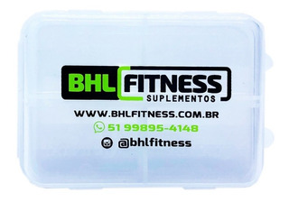Porta Cápsulas - Bhl Fitness