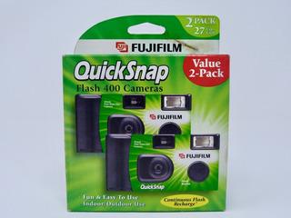 Cámara Desechable Fujifilm Quicksnap Flash 400 2pack 2007-02
