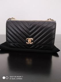 Bolsa Chanel Trendy Woc Chevron Original