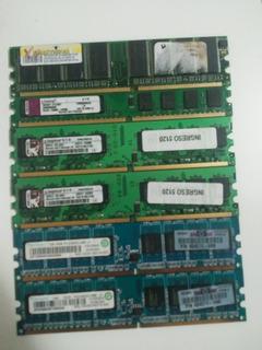 Memorias Ram Pc Desktop 512mb 1gb Y 2gb Dimm Y Ddr2