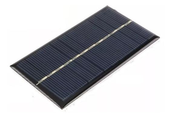 50 Painel Solar Fotovoltaica 6v 1w 200ma Só. Rj.df.mg.es.sp
