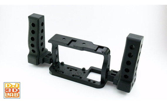 Cage Gaiola + Alças Laterais Para Sony A6300