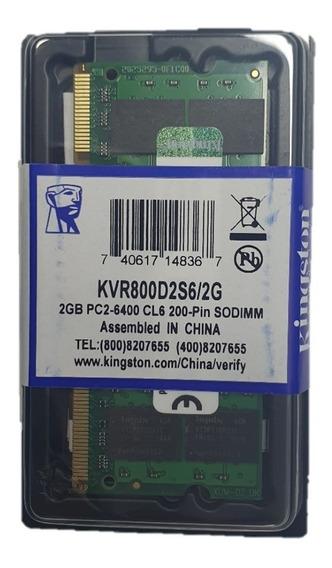 Memoria Ram Ddr2 2gb Para Laptop Nueva Garantia 3 Meses