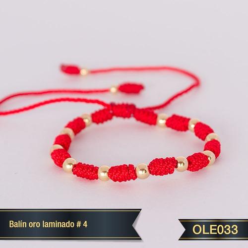 Pulsera Oro Laminado 18k Ole033