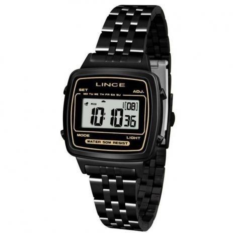 Relógio Lince Digital Sdph068l Bxpx Preto Original