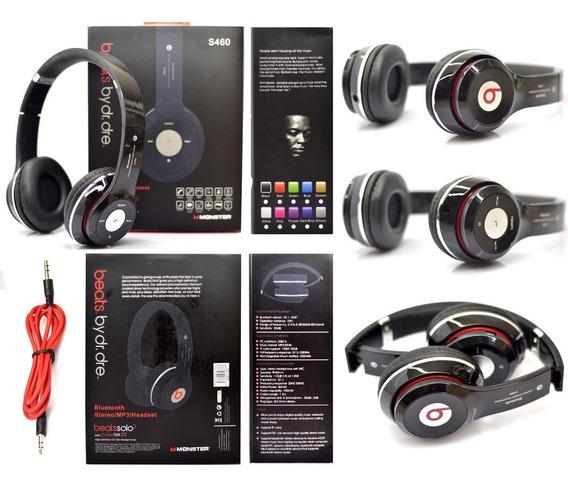 Audifonos Beats Monster Solo2 Bluetooh Mp3 Mic Fm +cable+aux