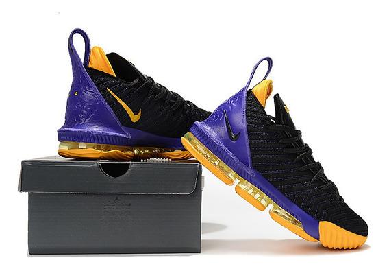 Tenis Nike Lebron 16 Varias Cores Frete Gratis