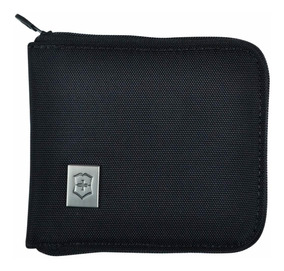 Billetera Victorinox Access 4.0 Negro Zip-around 11 X 10cm
