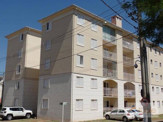Apartamento Com 3 Dormitórios À Venda E Locação, 67 M² - Condomínio Avalon - Hortolândia/sp - Ap0738