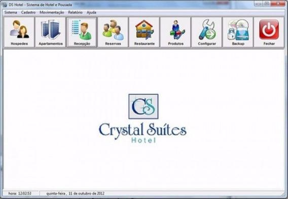 Sistema Software Programa Para Hotel, Pousadas E Hospedagem