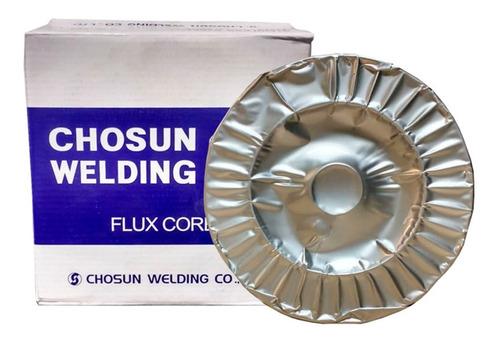 Imagem 1 de 6 de Kit 15kg Arame Tubular Inox 1.2 316lt1-1/4 Chosun/fbts