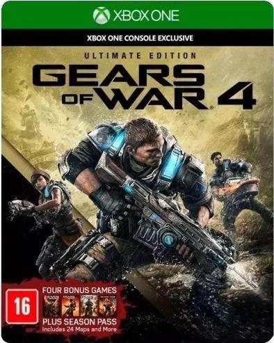 Jogo Gears Of War 4 Ultimate Edition |seminovo| - Xbox One
