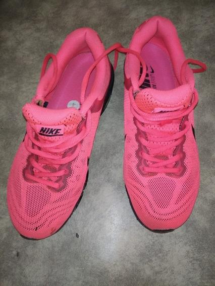 Zapatillas Nike Air Max De Mujer. Talle 8