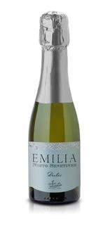 Caja X 24 Mini Champaña Emilia Dulce 187 Ml