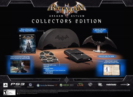 Lacrado Ps3 Batman Arkham Asylum Collector´s Edition