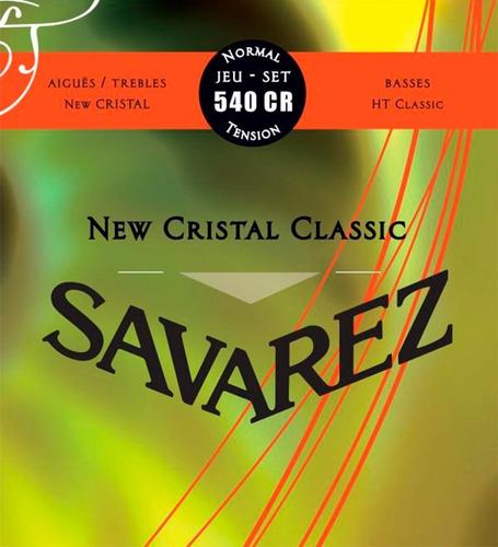 Encordado Savarez New Cristal Ht Classic 540cr Tension Media