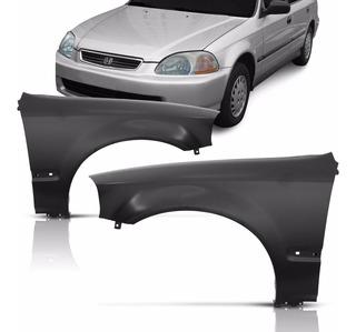 Paralama Dianteiro Civic 4 Portas Sedan 1996 1997 1998